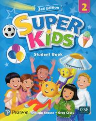 Super Kids. 2 SB with CD & PEP