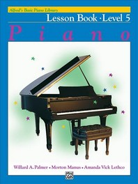 Alfred's Basic Piano Course Lesson Book, Bk 5