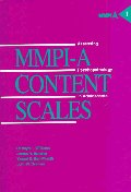 Mmpi-A Content Scales, 1