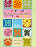 Poakalani Hawaiian Quilt Cushion Patterns and Designs