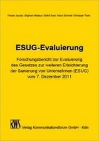 ESUG-Evaluierung