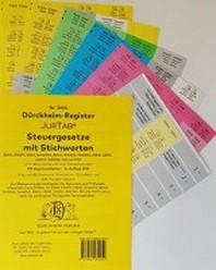 STEUERGESETZE ?berschrift, Duerckheim-Register JurTab Nr. 2450 (2019)