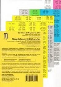 SteuerErlasse Griffregister Nr. 1453 (2018/57.EL) mit Stichworten