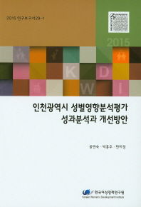 인천광역시 성별영향분석평가 성과분석과 개선방안