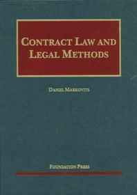 Markovits' Contract Law and Legal Methods
