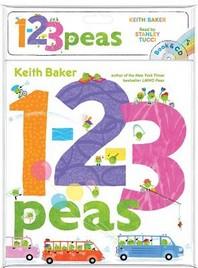 1-2-3 Peas [With Audio CD]