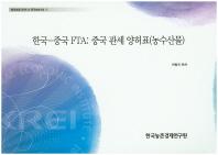한국-중국 FTA: 중국 관세 양허표(농수산물)