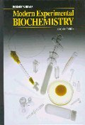 Modern Experimental Biochemistry (Benjamin/Cummings