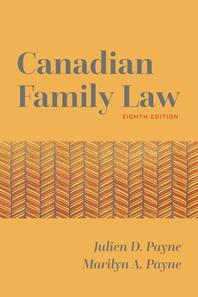 Canadian Family Law 8/E