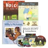 앤서니브라운 4종 ( Bear Hunt , Me and You , Voices in the Park , Willy's Pictures )