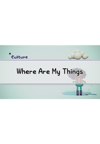 Where Are My Things