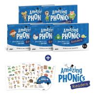 어메이징 파닉스 리더스(Amazing Phonics Readers) 세트. 1