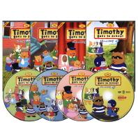 티모시네 유치원 2집 4종세트 Timothy Goes to School(DVD)