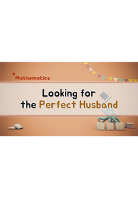 Looking for the Perfect Husband
