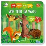 Puzzlekettenbuch Wir Tiere im Wald