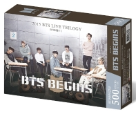 BTS 직소퍼즐 월드투어 포스터. 5: BTS Begins(인터넷전용상품)