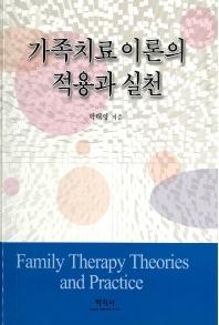 가족치료 이론의 적용과 실천
