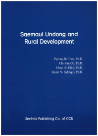 Saemaul Undong and Rural Development