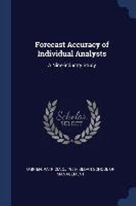 Forecast Accuracy of Individual Analysts