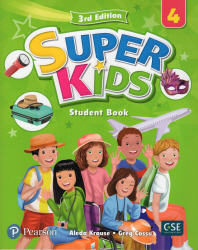 Super Kids. 4 SB with CD & PEP