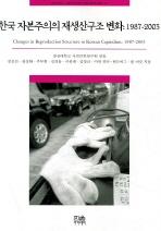 한국 자본주의의 재생산구조 변화