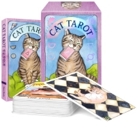 CAT TAROT 공식 한국판(타로카드 78장 + 한글 가이드북 + 박스 케이스)
