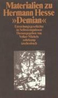 Materialien zu Hermann Hesse, Demian I