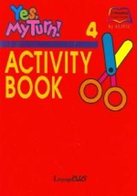 YES MY TURN 4(ACTIVITY BOOK)