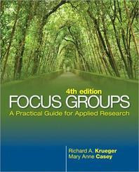 Focus Groups :A Practical Guide for Applied Research