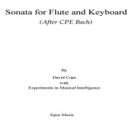 Sonata for Flute and Keyboard
