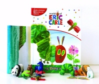 My Busy Book: Eric Carle (미니피규어 10개+놀이판)