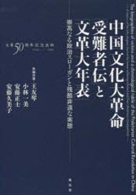中國文化大革命「受難者傳」と「文革大年表」 崇高なる政治スロ-ガンと殘酷非道な實態
