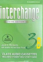 Interchange 3B (Cassette Tape 2개)  (Third Edition)