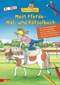 Conni und Flecki: Mein Pferde - Mal- und Raetselbuch