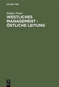 Westl.Management - Oestl. Leitung (Pieper)