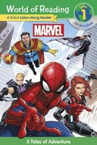 World of Reading Marvel 3-In-1 Listen-Along Reader