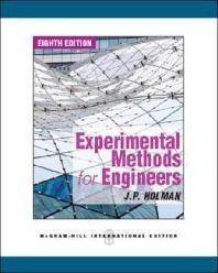 Experimental Methods for Engineers (Paperback)