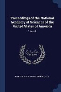 Proceedings of the National Academy of Sciences of the United States of America; Volume 5
