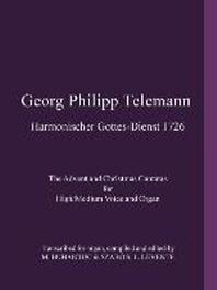 Georg Philipp Telemann Harmonischer Gottes-Dienst 1726