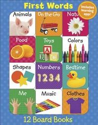 First Words (12 Book Set & Downloadable App!)