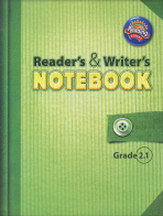 SCOTT FORESMAN READERS WRITERS NOTEBOOK GRADE 2.1