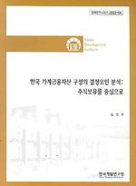 한국 가계금융자산 구성의 결정요인 분석:주식보유를 중심으로