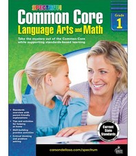 Common Core Math and Language Arts, Grade 1