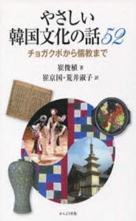 やさしい韓國文化の話52 チョガクポから儒敎まで