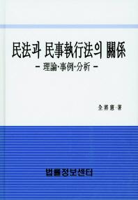 민법과 민사집행법의 관계