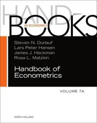 Handbook of Econometrics, 7