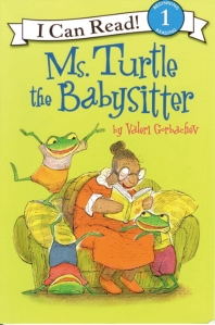 Ms. Turtle the Babysitter (Book+Audio CD)