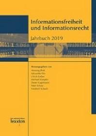 Informationsfreiheit und Informationsrecht. Jahrbuch 2019