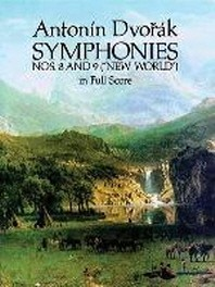 """Symphonies Nos. 8 and 9 (""""new World"""") in Full Score"""