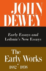 The Early Works of John Dewey, 1882-1898, Volume 1
